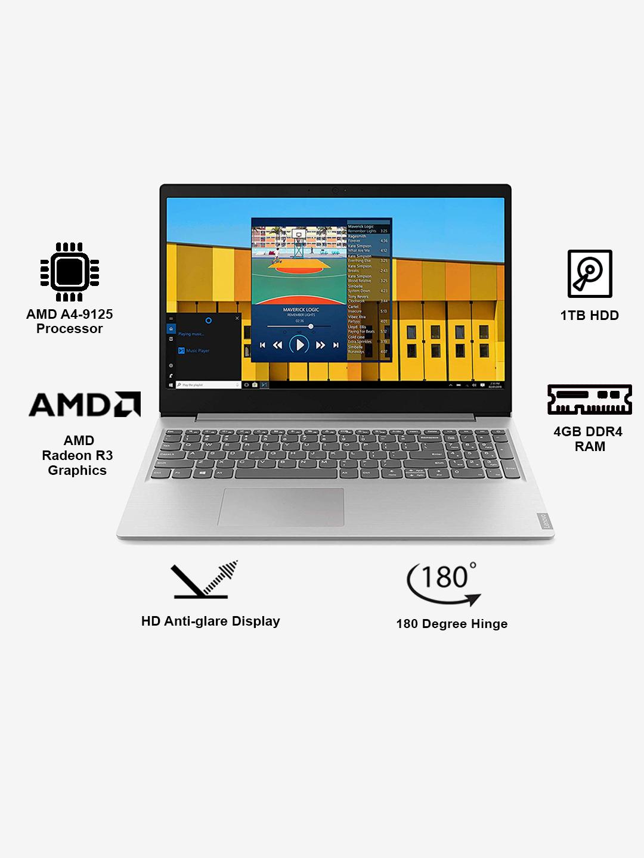 Buy Lenovo Ideapad S145 Amd A4 9125 4gb 1tb Hdd 15 6 Inch Dos Online At Best Price Tata Cliq