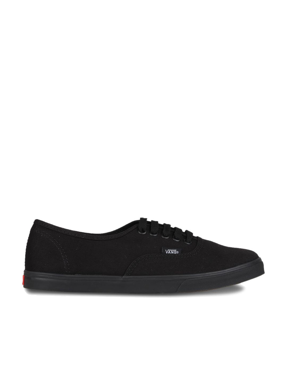 Buy Vans Authentic Lo Pr Black Sneakers