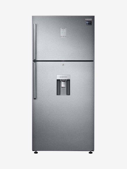Samsung 523L Inv 2 Star  2020  Frost Free Double Door Refrigerator  Steel, RT54K6558SL/TL