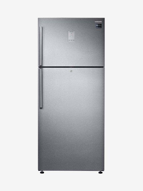 Samsung 551 L Inv 2 Star  2020  Frost Free Double Door Refrigerator  Easy Silver, RT56K6378SL/TL