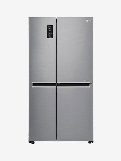 LG GC B247SLUV 687 L Frost Free Refrigerator  Shiny Steel