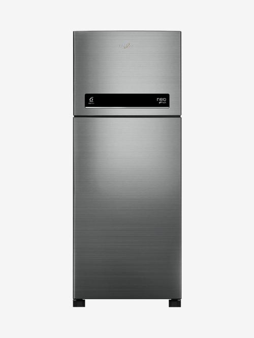 Whirlpool NEO DF278 PRM 2S 265L 2 Star Frost Free Double Door Refrigerator  Arctic Steel