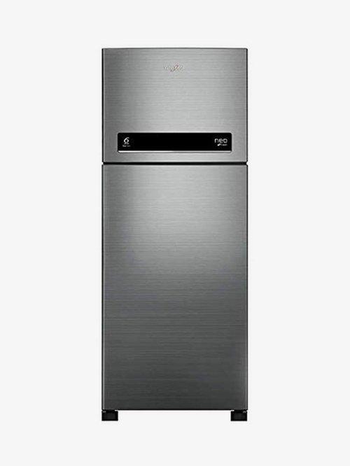 Whirlpool 245L 2 Star  2019  Frost Free Double Door Refrigerator  Arctic Steel, NEO DF258 ROY