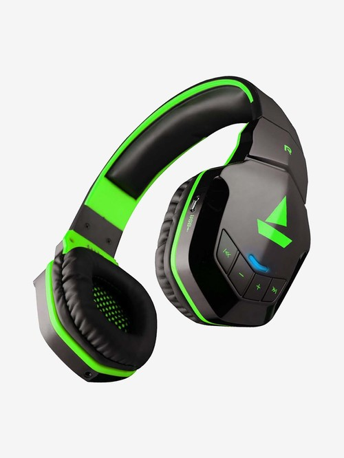 Boat Rockerz 510 Extra Bass Over the Ear Bluetooth Headphones with Mic...