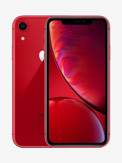 Apple iPhone XR 64   GB  Red  Apple Electronics TATA CLIQ