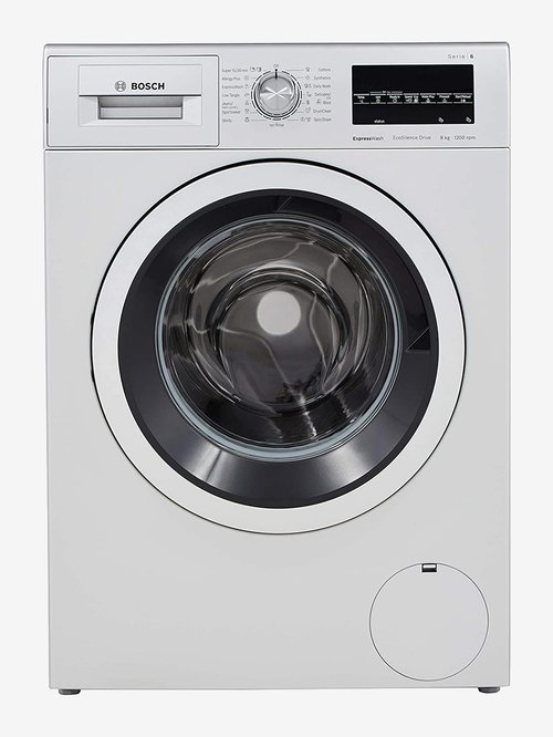 Bosch 8Kg Fully Automatic Front Load Washing Machine  WAT24464IN, Silver