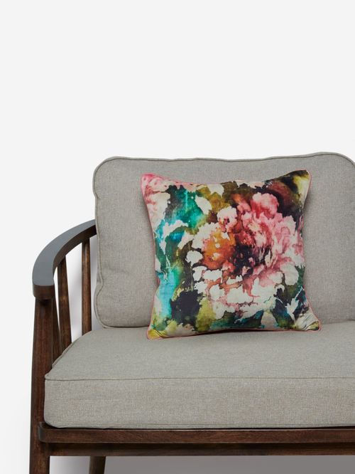 Westside Home Multicolour Abstract Print Cushion Cover