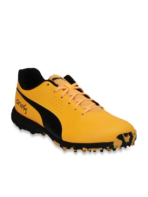 Puma One8 19 FH Orange Cricket Shoes