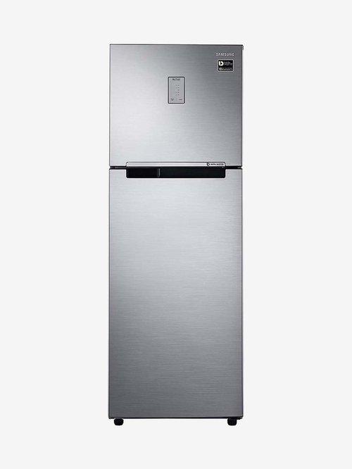 Samsung 275L Inverter 3 Star 2020 Frost Free Double Door Refrigerator  Refined Inox,RT30T3443S9/HL