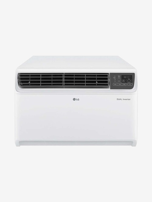 LG 1.5 Ton Dual Inverter 3 Star Copper  2020Range   R 32  Window AC  JW Q18WUXA1,White