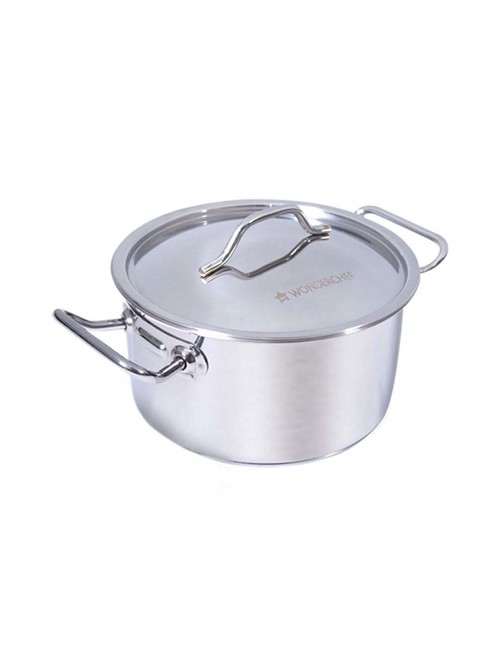 Wonderchef Silver Stanton Casserole with Lid   Set of 1