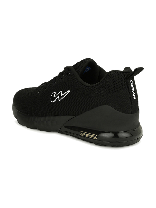Buy Campus North Black Running Shoes