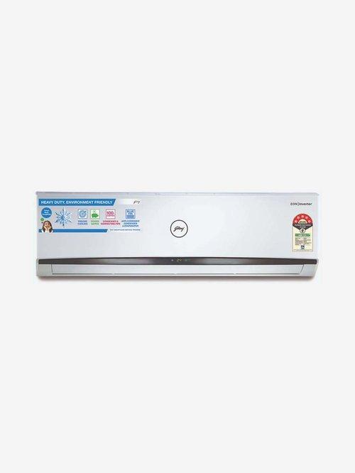 Godrej 1.5 Ton Inverter 5 Star Copper  2020 Range  GIC 18HTC5 WTA Split AC  White