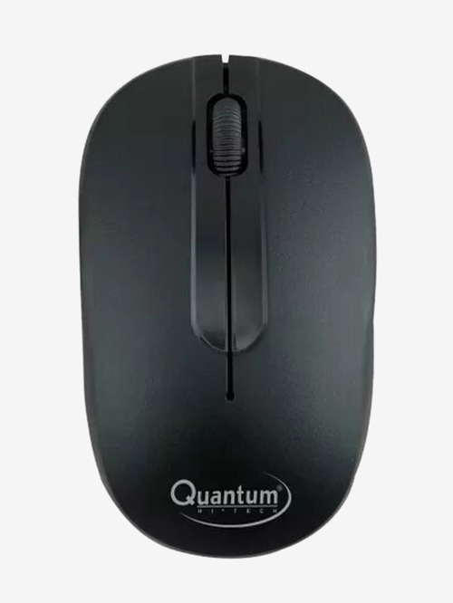 Quantum Wireless Optical Mouse  QHM271, Black