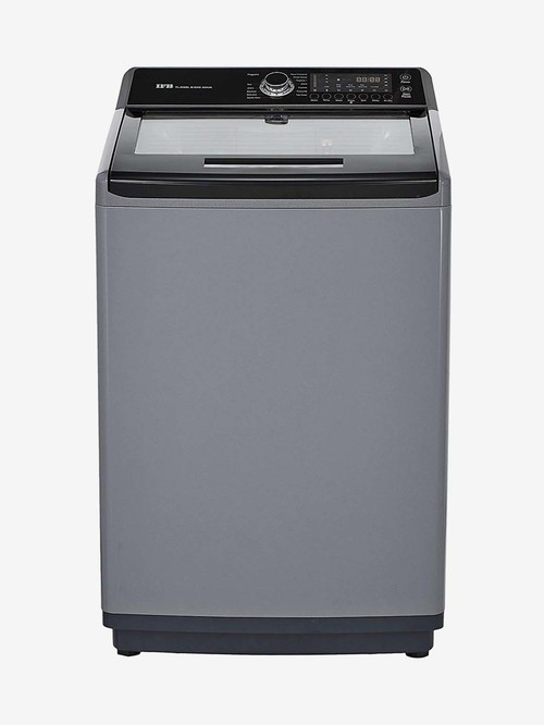 IFB 8.5 Kg Fully Automatic Top Load Washing Machine with Heater  TL SSBL AQUA, Sparkle Silver