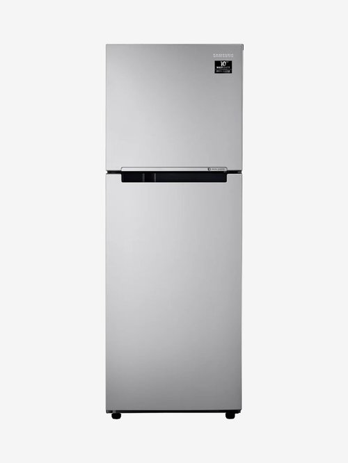 Samsung 253L Inverter 2 Star 2020 Frost Free Double Door Refrigerator  Elective Silver, RT28T3022SE