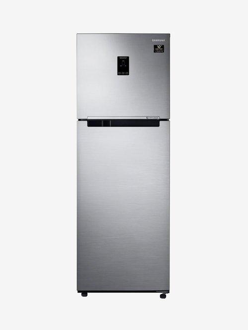 Samsung 345 L Inverter 3 Star  2020  Frost Free Double Door Refrigerator  RT37T4533S8, Elegant Inox