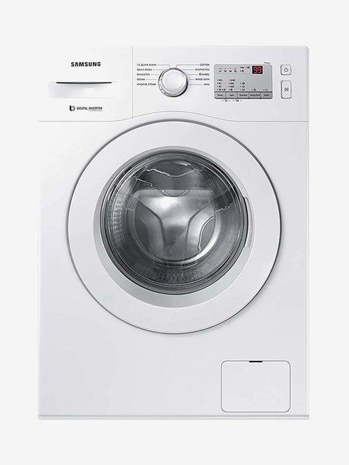 Samsung 6 kg Fully Automatic Front Load Washing Machine 1000 RPM  WW60R20GLMA/TL, White