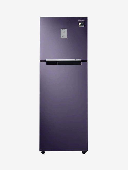 Samsung 275L Inverter 2 Star 2020 Frost Free Double Door Refrigerator  Pebble Blue, RT30T3422UT/HL