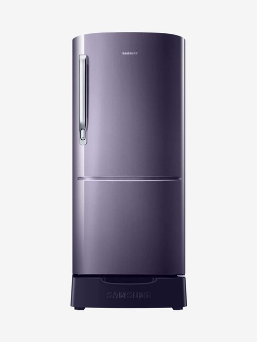Samsung 192L Inverter 3 Star 2020 Direct Cool Single Door Refrigerator  Pebble Blue, RR20T282YUT/NL  Samsung Electronics TATA CLIQ
