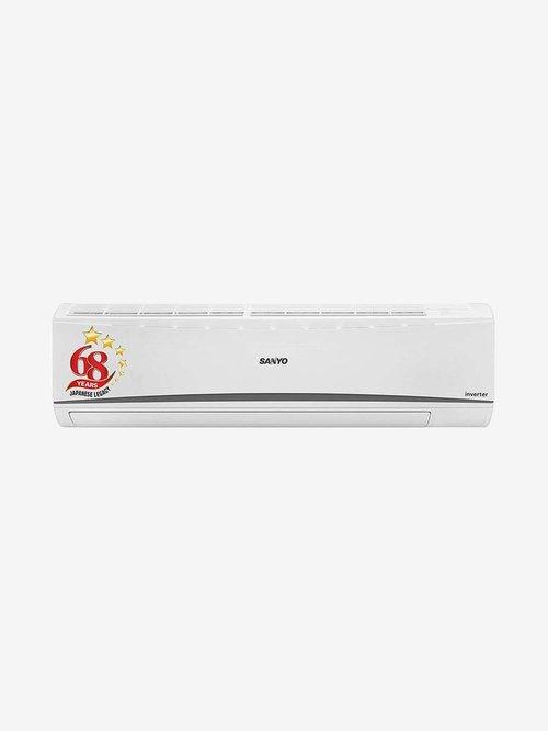 Sanyo 1.5 Ton Inverter 5 Star Copper  2020 Range  SI/SO 15T5SCIC  R32  Split AC  White