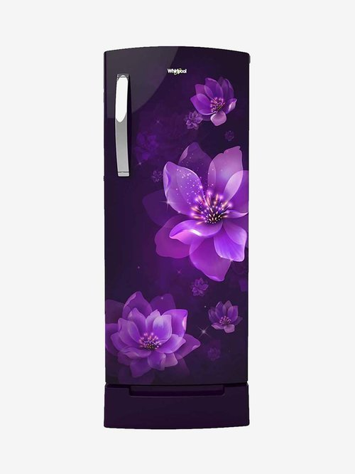 Whirlpool 200L 3 Star  2020  Direct Cool Single Door Refrigerator  Purple Mulia, 215 IMPRO ROY
