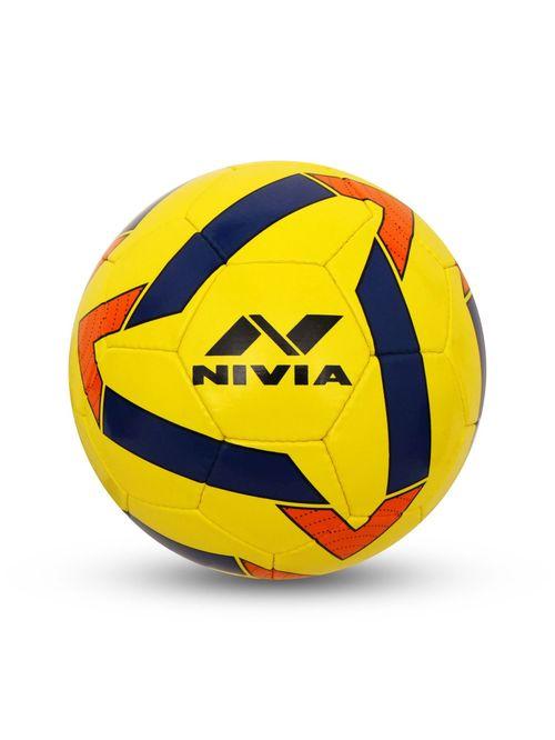 Nivia Super Synthetic Yellow Football  Size 5