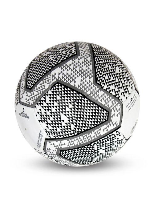 Nivia Black   White Football  Size 4