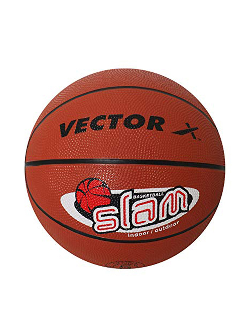 Vector X SLAM Basketball  Size 5   Brown
