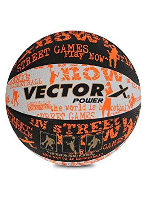 Vector X BB Power Basketball  Size 7, Orange