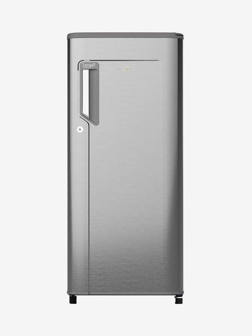 Whirlpool 190L 3 Star  2020  Direct Cool Single Door Refrigerator  Magnum Steel, 205 IMPC PRM  Whirlpool Electronics TATA CLIQ
