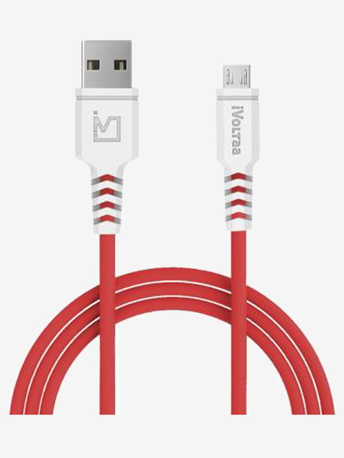 iVoltaa iVPC IM RED1 2.4 A 1 m Micro USB Cable  Red