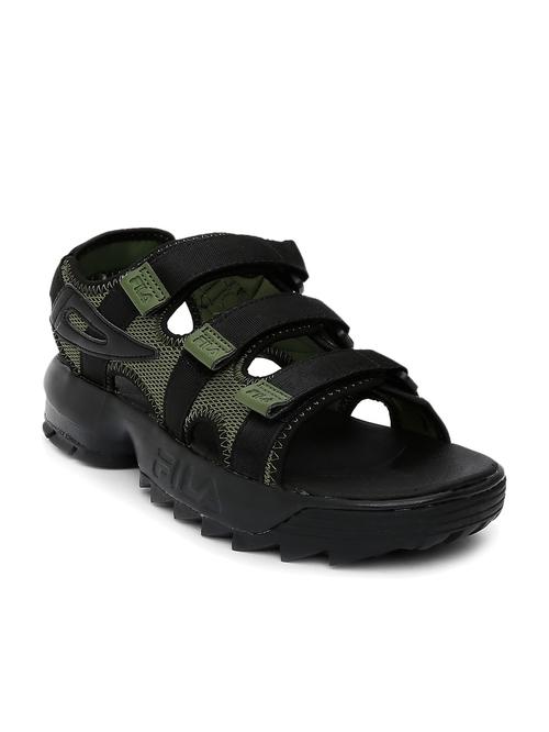 fila sandal black