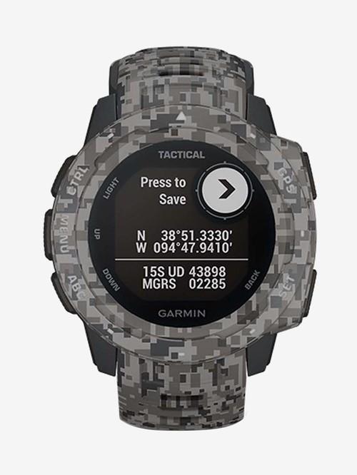 Garmin Instinct Tactical Edition Smartwatch (Camo-Graphite)