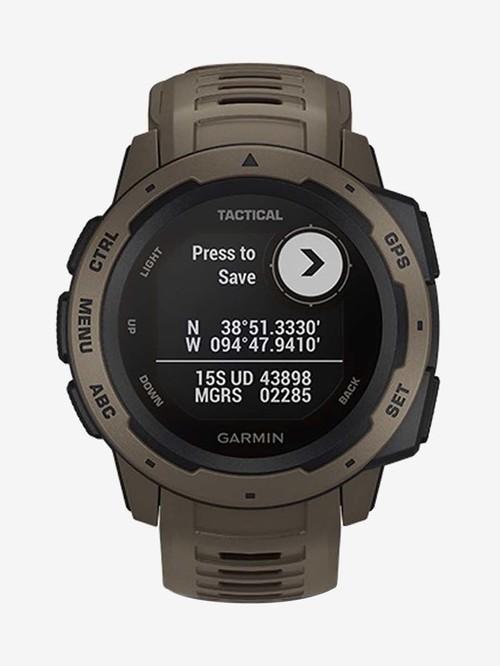 Garmin Instinct Tactical Edition Smartwatch (Coyote Tan)