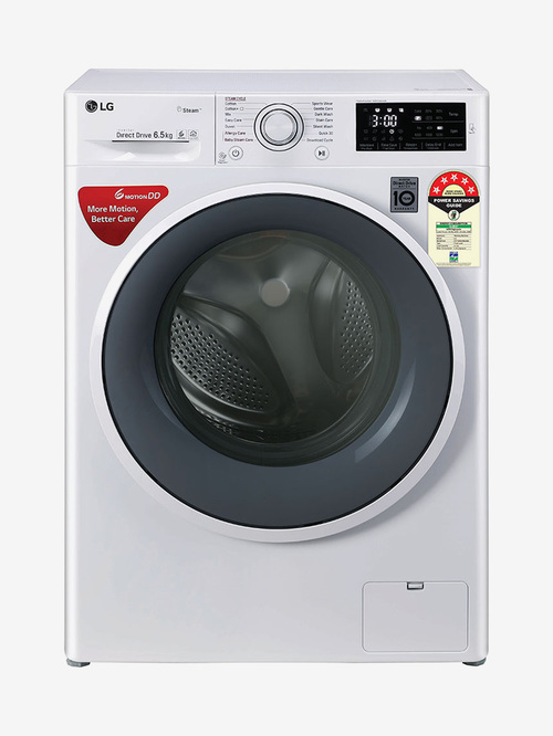 LG 6.5 Kg Inverter Fully Automatic Front Load Washing Machine  FHT1265ZNW, Blue White
