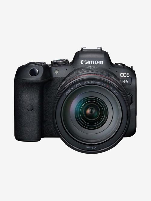 Canon EOS R6 20.1 MP DSLR Camera (24-105mm F/4L Lens)