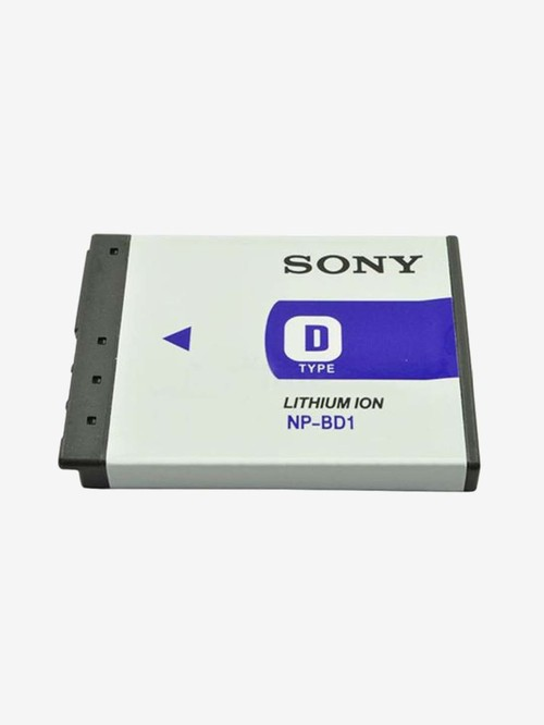 Sony NP BD1 630 mAh Rechargeable AAA Battery  White