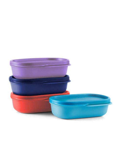 Tupperware Lunch Box Containers  120 ml    Set of 4