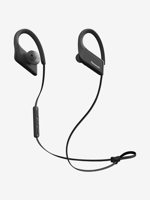 Panasonic Wings RP BTS35E K Wireless Bluetooth Earphone with Microphone  Black  Panasonic Electronics TATA CLIQ
