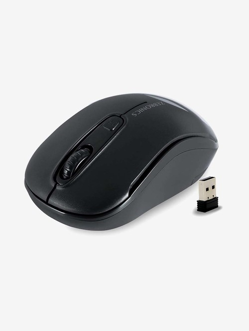 Zebronics Zeb Dash Wireless Optical Mouse  Black