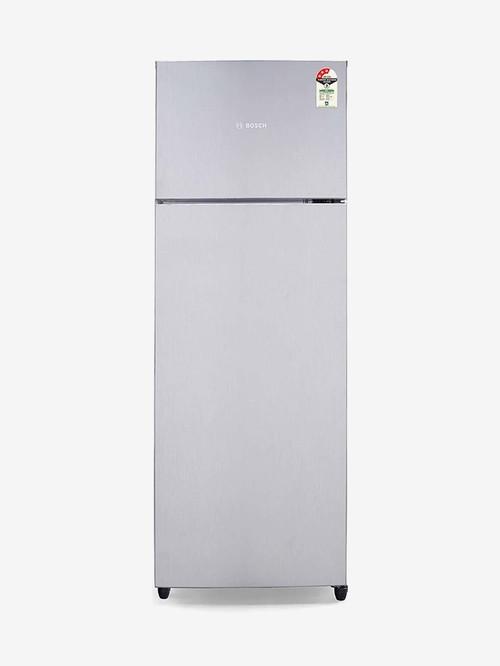Bosch 288L 3 Star  2020  Frost Free Double Door Refrigerator  Stainless Steel, KDN30UL30I