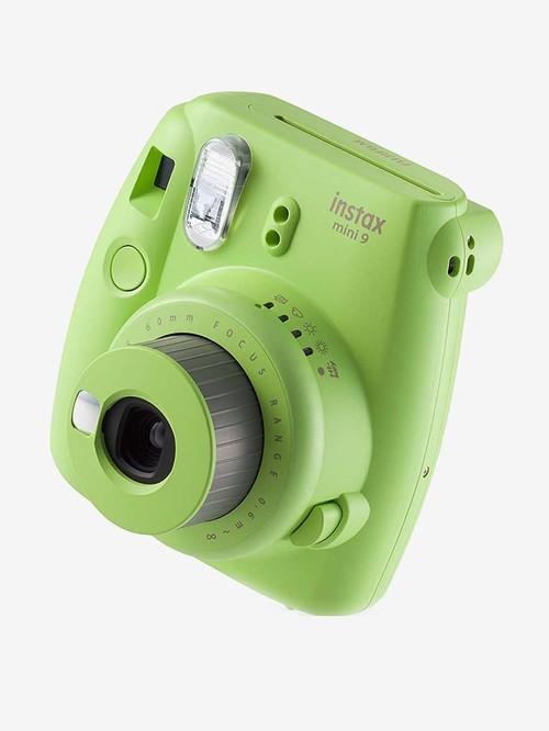 Fujifilm Instax Mini 9 Instant Camera with 10 Film Shot Free  Lime Green