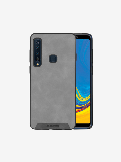 Stuffcool Rego PU Leather Back Case Cover for OnePlus 6T / One Plus 6T  Grey  Stuffcool Electronics TATA CLIQ