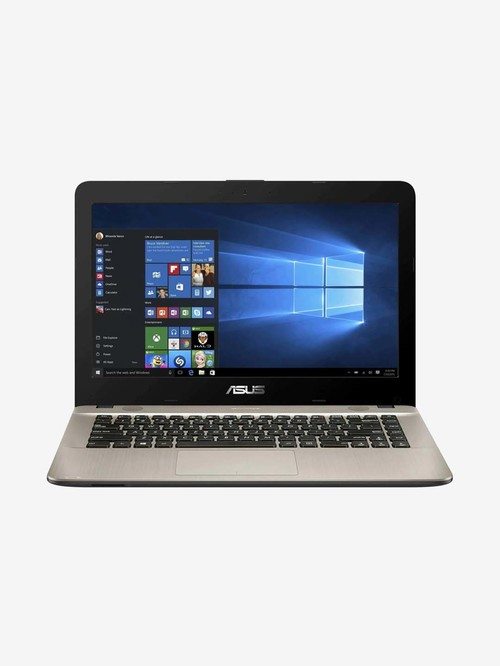 Asus Laptop X441UA GA597 i3|8th Gen|4 GB|1TBHDD|14 inch|DOS|INT Graphics|Hearty Gold