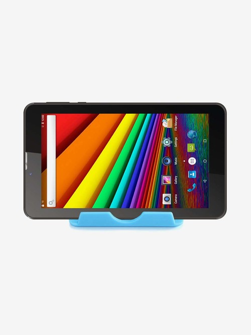 I Kall N9 Tablet  7 inch, 1 GB RAM, 16 GB, Wi Fi + 3G, Voice Calling  Black With Free Stand