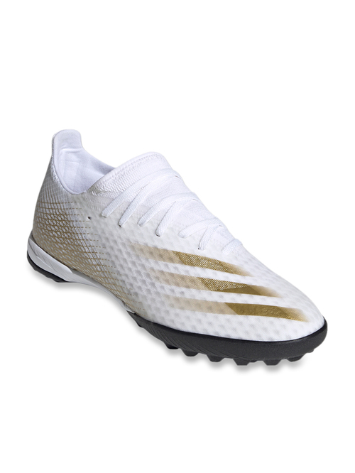 Adidas X Ghosted.3 TF White Football Shoes