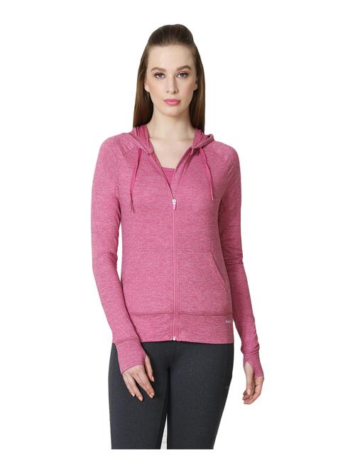 Van Heusen Woman Pink Full Sleeves Jacket