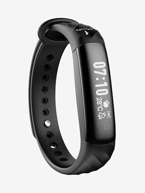 MevoFit Slim Smart Fitness Band  Black