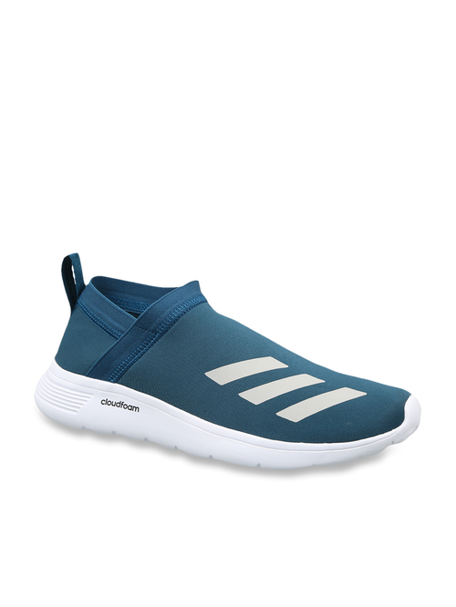 En el piso Universidad micro  Adidas Men's Floy Teal Blue Running Shoes from adidas at best prices on  Tata CLiQ
